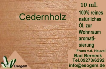 Cedernholzöl