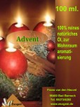 Adventöl - Ätherische Ölmischung 100 ml