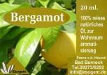 Bergamotteöl 20 ml