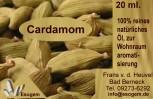 Cardamomöl 20 ml