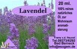 Lavendelöl 20 ml