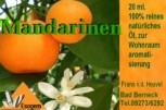 Mandarinöl 20 ml