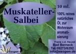 Muskateller-Salbeiöl