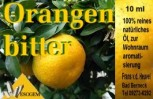 Orangenöl bitter