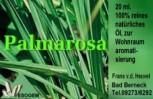 Palmarosaöl 20 ml