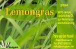 Lemongrasöl 20 ml